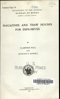 Magazines and Thaw Houses for Explosives PDF