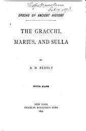 The Gracchi, Marius, and Sulla