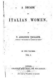 St. Catharine of Siena. Caterina Sforza. Vittoria Colonna