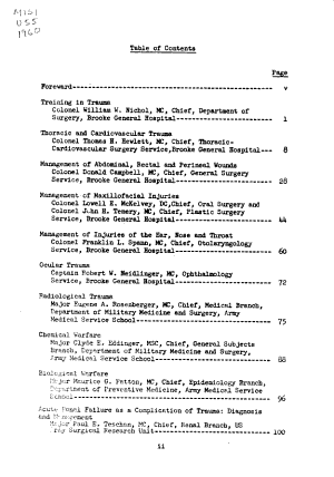 Postgraduate seminar  surgical and orthopaedic aspects of trauma  14 18 March 1960 PDF