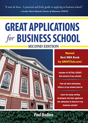 Great Applications for Business School  Second Edition PDF