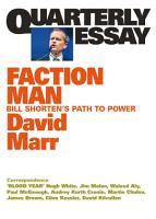 Quarterly Essay 59 Faction Man PDF