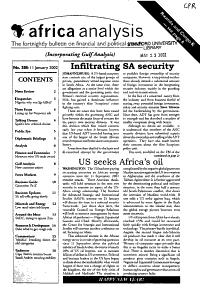 Africa Analysis PDF