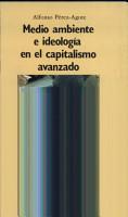 Medio ambiente e ideolog  a en el capitalismo avanzado PDF