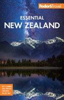 Fodor s Essential New Zealand PDF