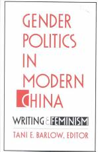 Gender Politics in Modern China PDF