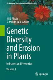 Genetic Diversity and Erosion in Plants: Indicators and Prevention
