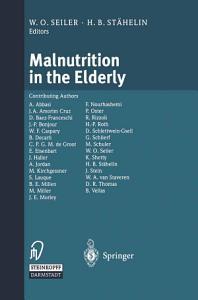 Malnutrition in the Elderly
