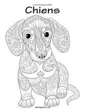 Livre de coloriage pour adultes Chiens 1 & 2
