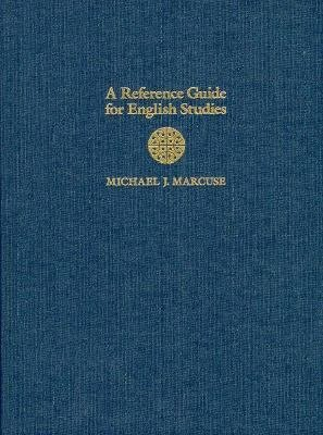 A Reference Guide for English Studies PDF