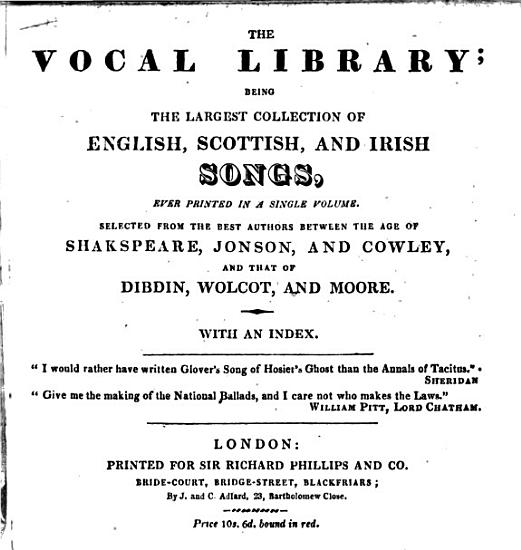 The Vocal Library PDF