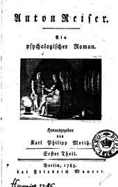 Anton Reiser: Ein psychologischer Roman, Bände 1-2