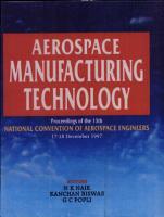 Aerospace Manufacturing Technology PDF