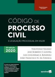 C  digo de Processo Civil e Legisla    o Processual em Vigor   51   Edi    o 2020 PDF
