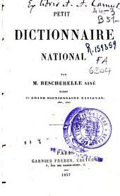 Petit dictionnaire national