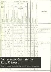 Verordnungsblatt für das k. u. k. Heer: Normal-Verodnungen, Band 38