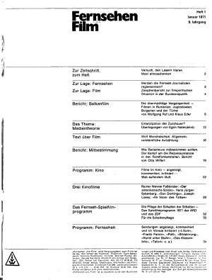 Fernsehen und Film PDF