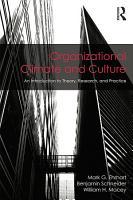 Organizational Climate and Culture PDF