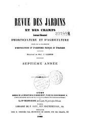 Revue des jardins et des champs: journal d'horticulture et d'agriculture