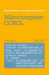 Mikrocomputer-COBOL: Einführung in die Dialog-orientierte COBOL-Programmierung am Mikrocomputer, Ausgabe 2