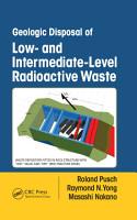Geologic Disposal of Low  and Intermediate Level Radioactive Waste PDF