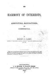The Harmony of Interests: Agricultural, Manufacturing, and Commercial
