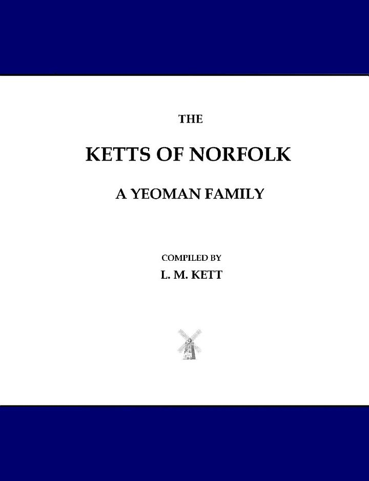 The Ketts of Norfolk