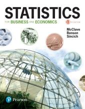Statistics for Business and Economics: Edition 13