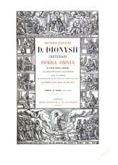 Doctoris ecstatici D. Dionysii Cartusiani Opera omnia: in unum corpus digesta ad fidem editionum Coloniensium, Volume 30