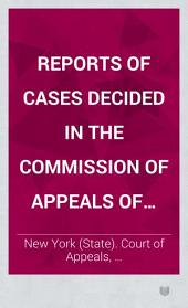 Reports of Cases Decided in the Court of Appeals of the State of New York: Volume 52