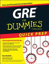 GRE For Dummies Quick Prep
