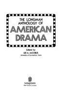 The Longman Anthology of American Drama