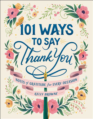 101 Ways to Say Thank You