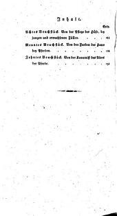Von der Zucht der Kriegs- und Bürgerpferde: Bruchstücke über wilde-, halbwilde-, Militär- und Landgestüte, Band 2