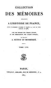 Collection des mémoires relatifs à l'histoire de France: Mémoires du maréchal de Gramont ; t. II, Volume57