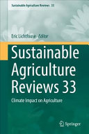 Sustainable Agriculture Reviews 33 PDF
