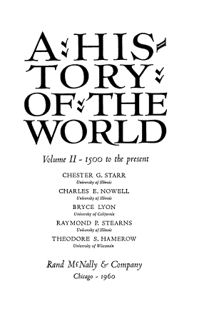 A History of the World PDF