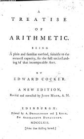 Cocker's Arithmetick ... Perused and published by John Hawkins ... The fifty-fourth edition ... By George Fisher, etc. With a portrait