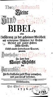 Kleine Hand- und Denck-Bibel
