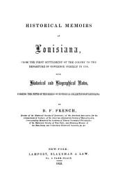 Historical Collections of Louisiana: Volume 5