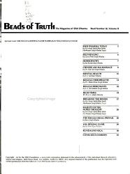 Beads Of Truth Book PDF