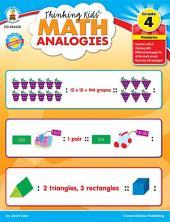 Thinking Kids'TM Math Analogies, Grade 4