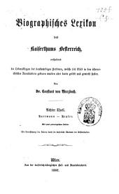 Biographisches Lexicon des Kaiserthums Österreich, enthaltend die Lebensskizzen der denkwürdigen Personen, welche 1750 bis 1850 im Kaiserstaate und in seinen Kronländern ... gelebt haben: Band 9