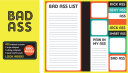 Book of Sticky Notes  Notepad Collection   Bad Ass