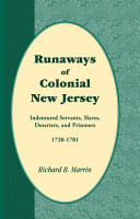 Runaways of Colonial New Jersey PDF