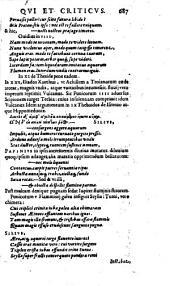 Ivlii Caesaris Scaligeri ...: Poetices libri septem ... Editio qvinta