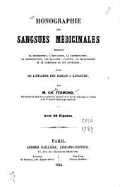 Monographie des sangsues médicinales, contenant la description [...] de ces annélides, suivie de l'hygiène des marais à sangsues