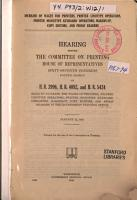 Increase of Wages for Printers  Printer Linotype Operators  Printer Momotype Keyboard Operators  Makers up  Copy Editors    Proof readers  Hearings     on H R  3996  H R  4092    H R  5424     Jan  22  1923 PDF
