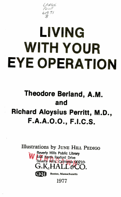 Living with Your Eye Operation PDF