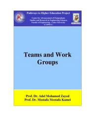 Teams And Work Groups Book PDF